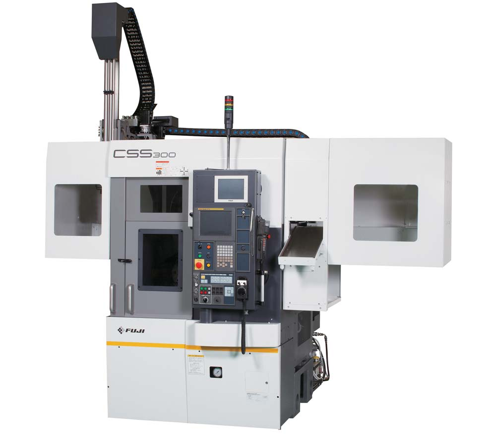 Fuji CSS-300 Twin Spindle Lathe