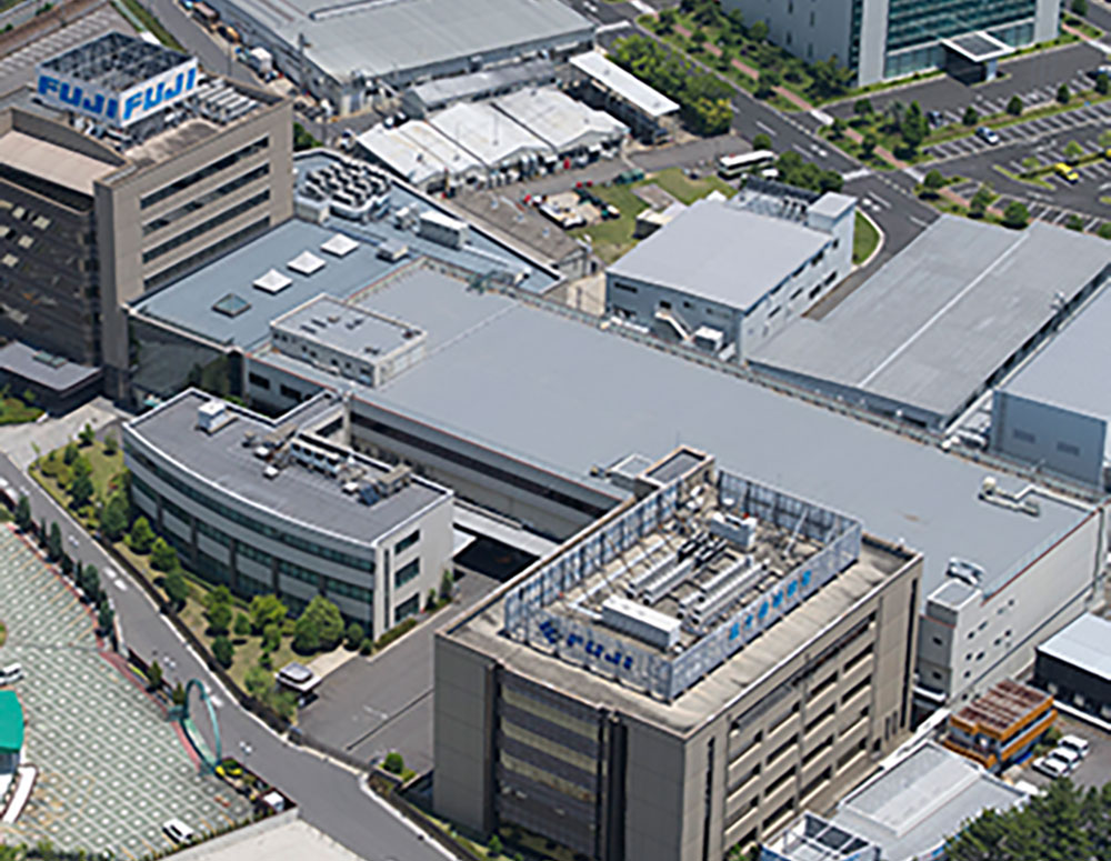 Exterior of Corporation headquartered in Chiryu, Japan